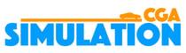CGA simulation logo