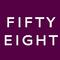 Fifty eight logo