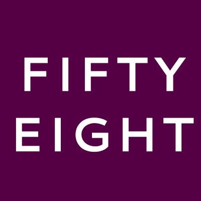 Fifty eight logo